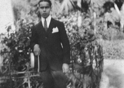 Juan Rejano, Jovén