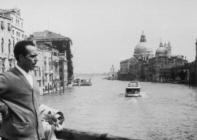 Juan Rejano en Venecia, 1964